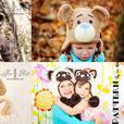 Handmade Crochet Animal hats & Alien Monster Hats for all ages