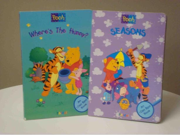 "Winnie the Pooh ""I Can Spot"" Books - Set of 2 Hardcovers"