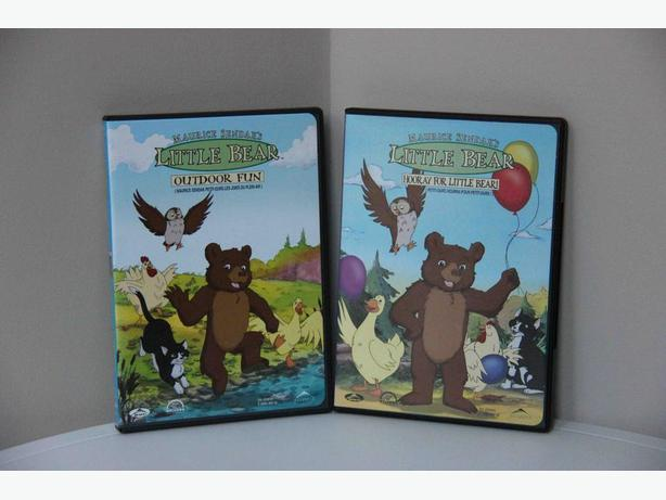FREE - Little Bear DVDs - Set of 2