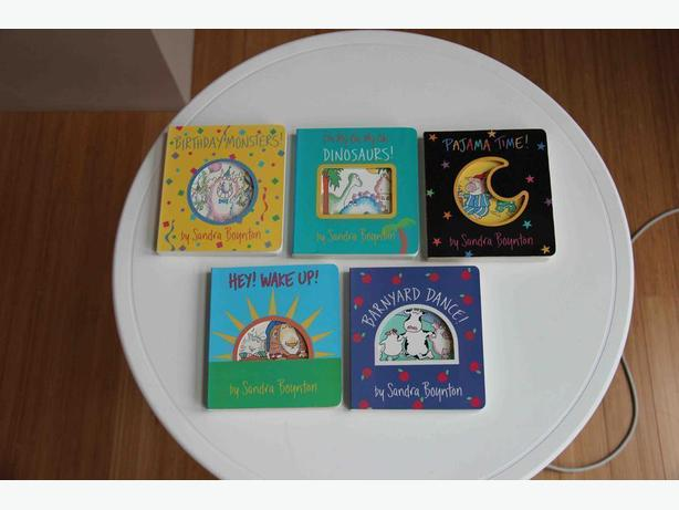 Sandra Boynton Books - Set of 5 (Hardcovers)
