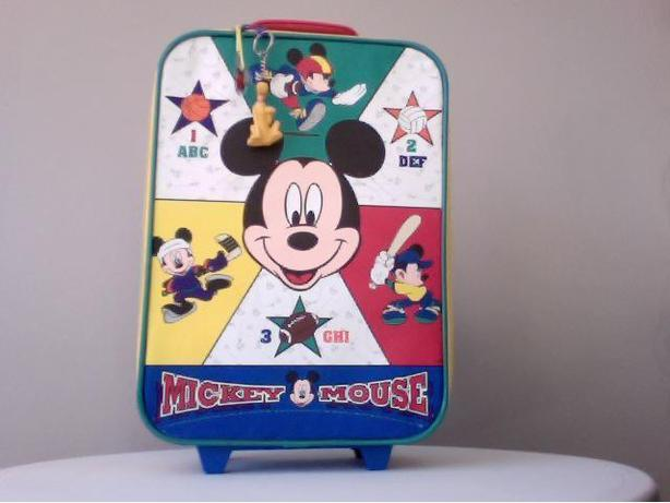 Mickey Mouse Travel Luggage