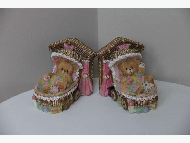 Teddy Bear Book Ends & Banks