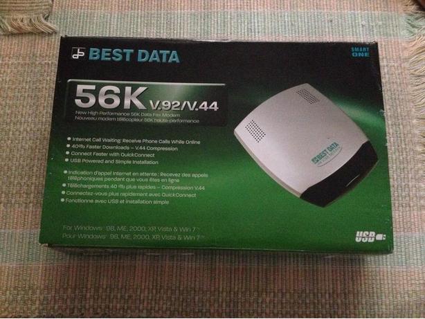 Best Data 56K V.92/V.44 USB Fax Modem