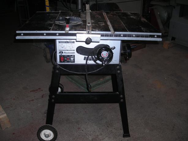 Rockwell 9 Inch Table Saw Outside Victoria Victoria Mobile