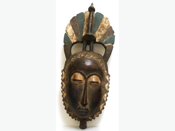 PRICE REDUCED African Masks - Baule Mask F