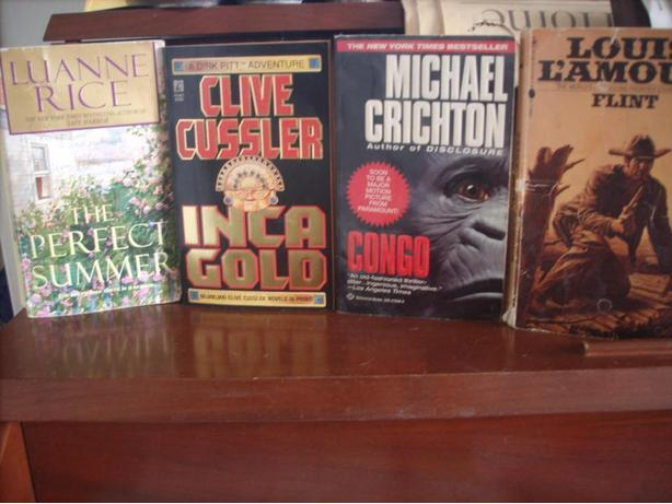 Nice Paperbacks For Your Reading Enjoyment by