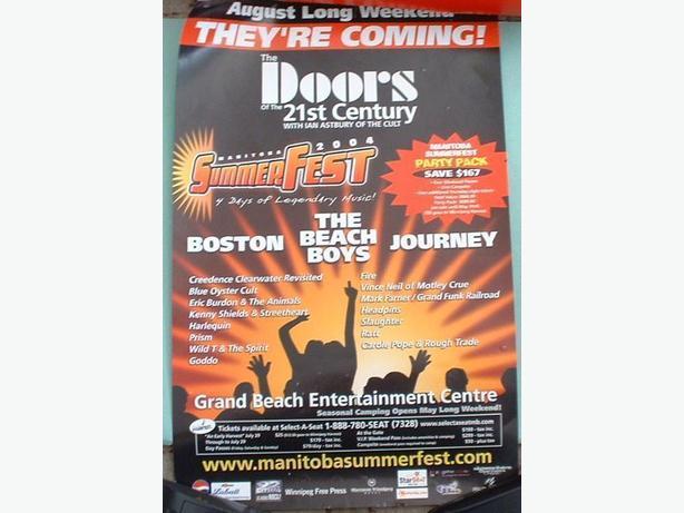 Doors of the 21st Century Tour Poster Ray Manzarek