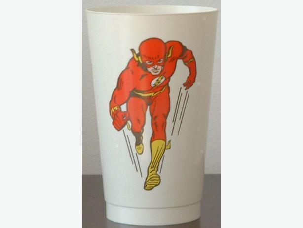 1970's Flash Plastic Cup Pepsi