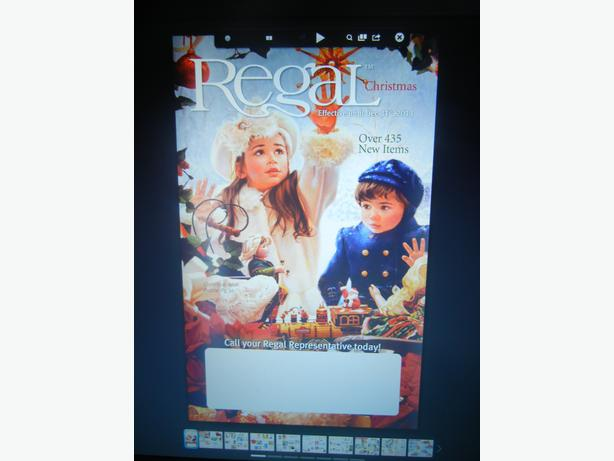 THE NEW REGAL CATALOG IS HERE!!