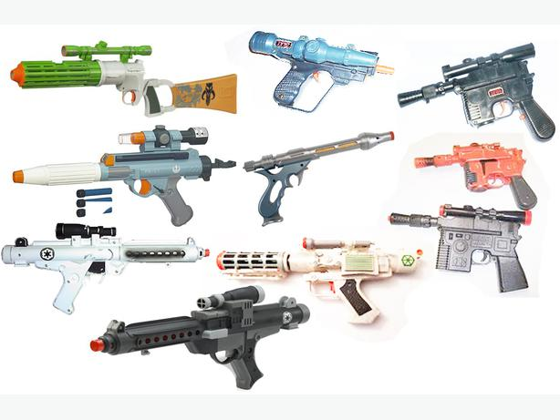 Star Wars Toy Guns : Wanted star wars toy guns victoria city