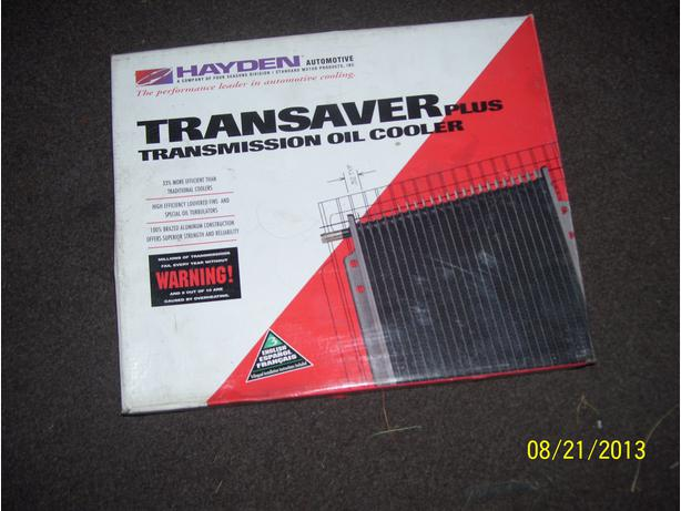 Transaver Plus transmission oil cooler 0C-1676