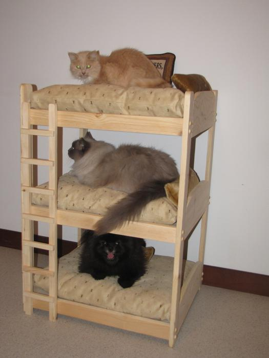 Pet Bed Bunk Bed 2 Tier And 3 Tier For Dogs And Cats