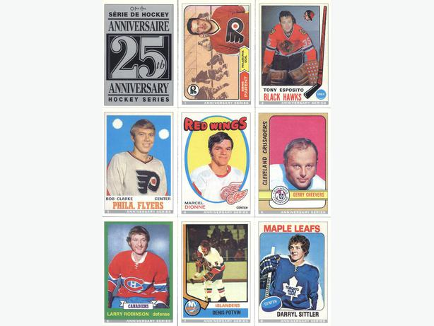 92/93 O-PEE-CHEE NHL COMPLETE 26 CARD 25TH ANNIVERSARY INSERT SET