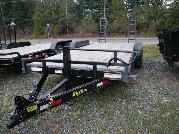 Big Tex 14ET-20 equipment trailer st#BT744