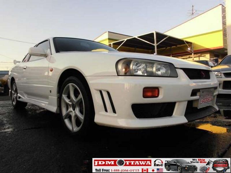 1998 Nissan Jdm Skyline R34 Gt T Er34 Outside North