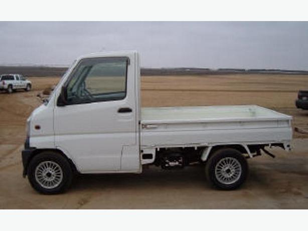 1999 mitsubishi minicab mini kei truck right hand drive outside pei pei. Black Bedroom Furniture Sets. Home Design Ideas