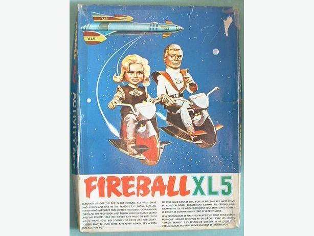 Fireball XL5 Activity Play Set 1963 Magic Wand