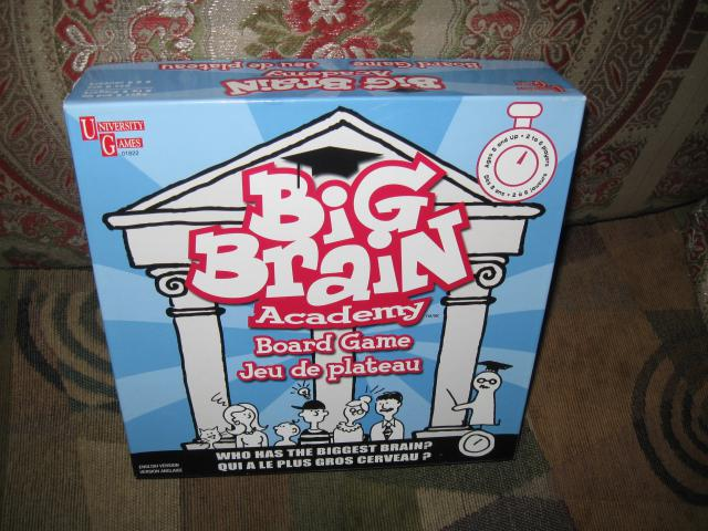 big brain academy card game instructions