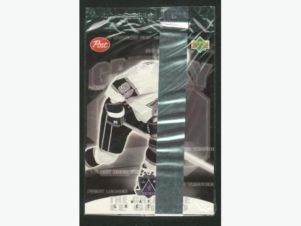 99/2000 Gretzky Post Cereal Cellophane