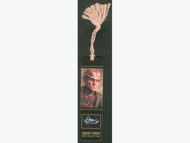 Star Trek Deep Space Nine Book Mark Quark Ferengi