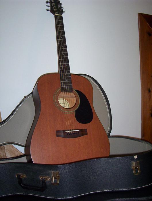 vintage samick solid top acoustic guitar osgoode ottawa. Black Bedroom Furniture Sets. Home Design Ideas