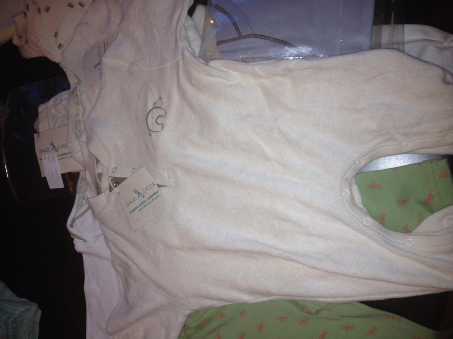 Brand new organic sage creek baby clothes tags on Victoria ...