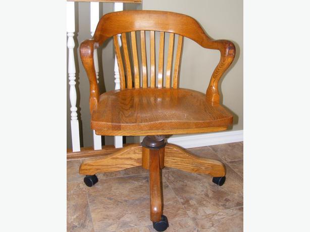 Antique Oak Office Chair Parts Antique Wooden Desk Chair original
