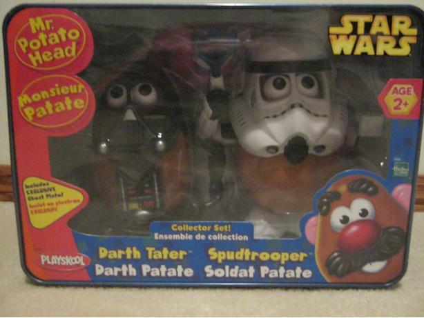 Star Wars Mr. Potato head 2 pack collectible