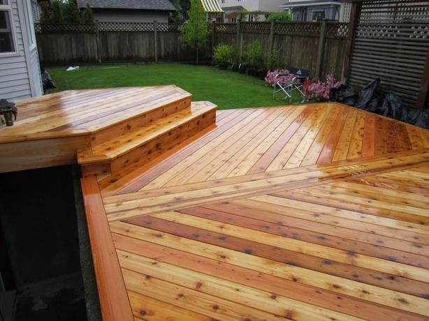 2X6 CEDAR DECKING EASED EDGES