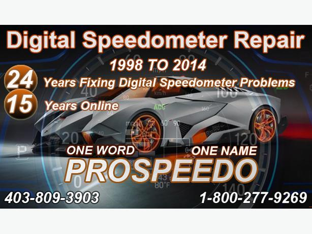 Gm Instrument Cluster Calgary Speedometer Repair 1998 to 2014