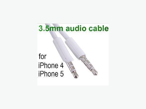 New 3FT/1m 3.5mm Speaker Audio AUX Cable