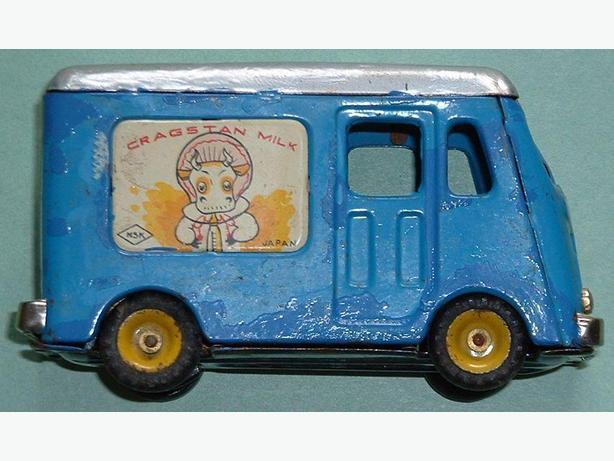 MSK Cragston's Milk Truck 1950's