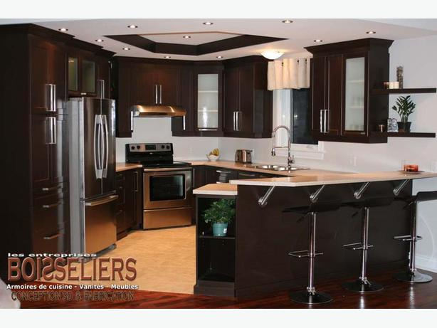 KITCHEN CABINETS, VANITIES AND COMMERCIAL MILLWORK