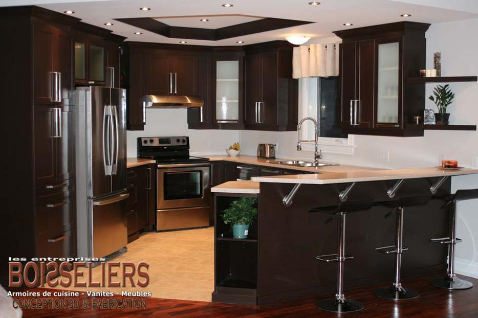 Kitchen cabinets vanities and commercial millwork aylmer for Kitchen cabinets quebec