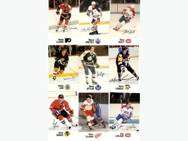 88/89 Esso NHL Superstars Set Howe Orr Gretzky Hull Lemieux Dryden