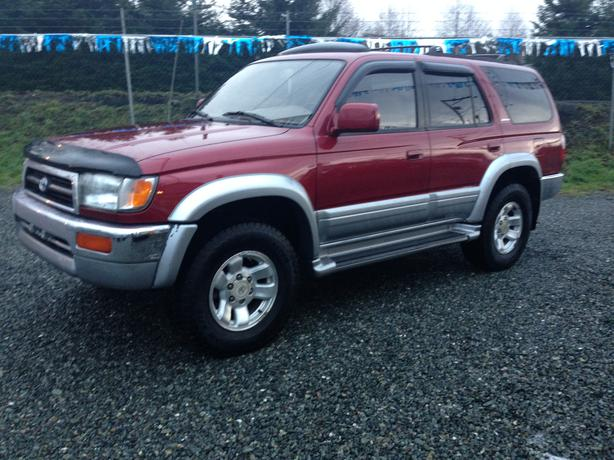 1997 toyota 4runner limited outside alberni valley alberni. Black Bedroom Furniture Sets. Home Design Ideas