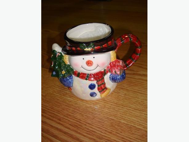 Brand New Snowman Cup Mug - $1