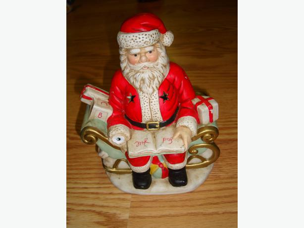 Collectable Santa Candle Holder For Sale!