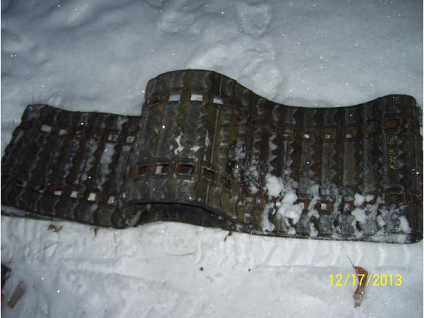 121x16 inch track Skidoo Polaris Yamaha Arctic Cat