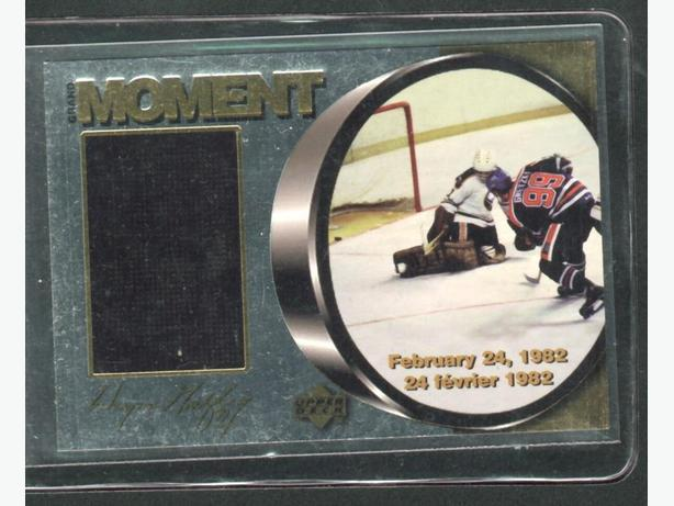 98/99 McDonald's Upper Deck Ice Gretzky Grand Moment M2 Oilers