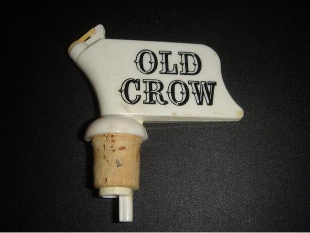Vintage Old Crow Pourer Stopper