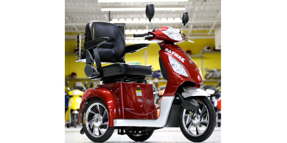Daymak Rickshaw 3 Wheel Electric Mobility Scooter Best