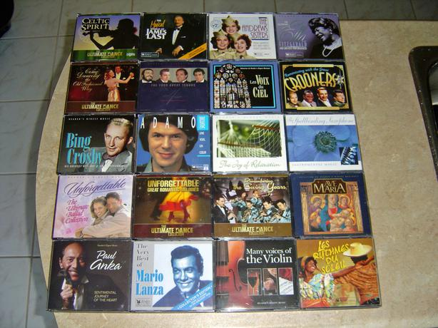 Various 3 and 4 CD`s sets