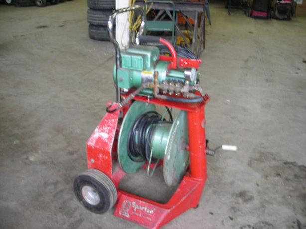 Spartan High Pressure Sewer and Drain cleaner