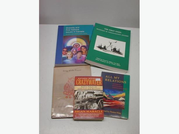 Group of Various Native Canadian Books