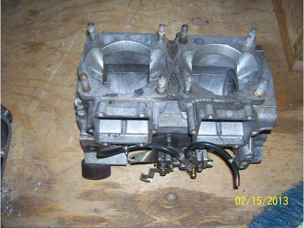 Arctic Cat ZR600 EFI ZL600 ZR500 ZL500 EFI crankcase engine cases