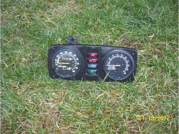 Polaris speedo tach face plate XLT Storm RXL XCR Sport