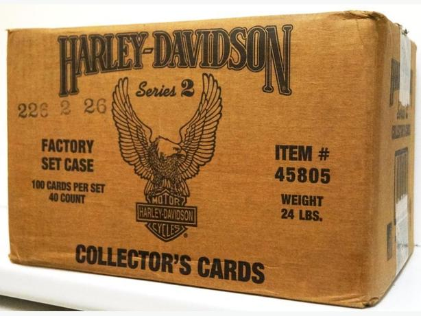 Price Reduced - Harley Davidson Collector's Series 2 Card Factory Set 1992