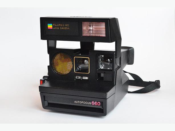 polaroid 660 autofocus instant camera victoria city victoria. Black Bedroom Furniture Sets. Home Design Ideas