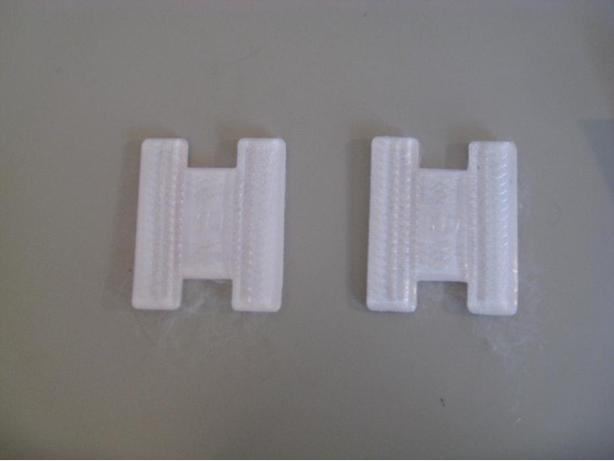 Lace bit pads